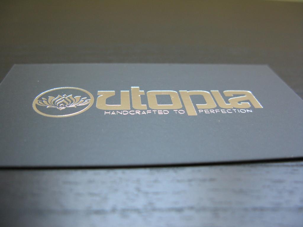 Foil Business Cards   Website Design, Orange County, CA