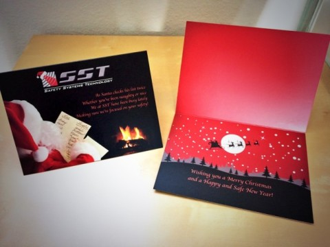 Holiday Card Design for SST | Website Design, Orange County, CA