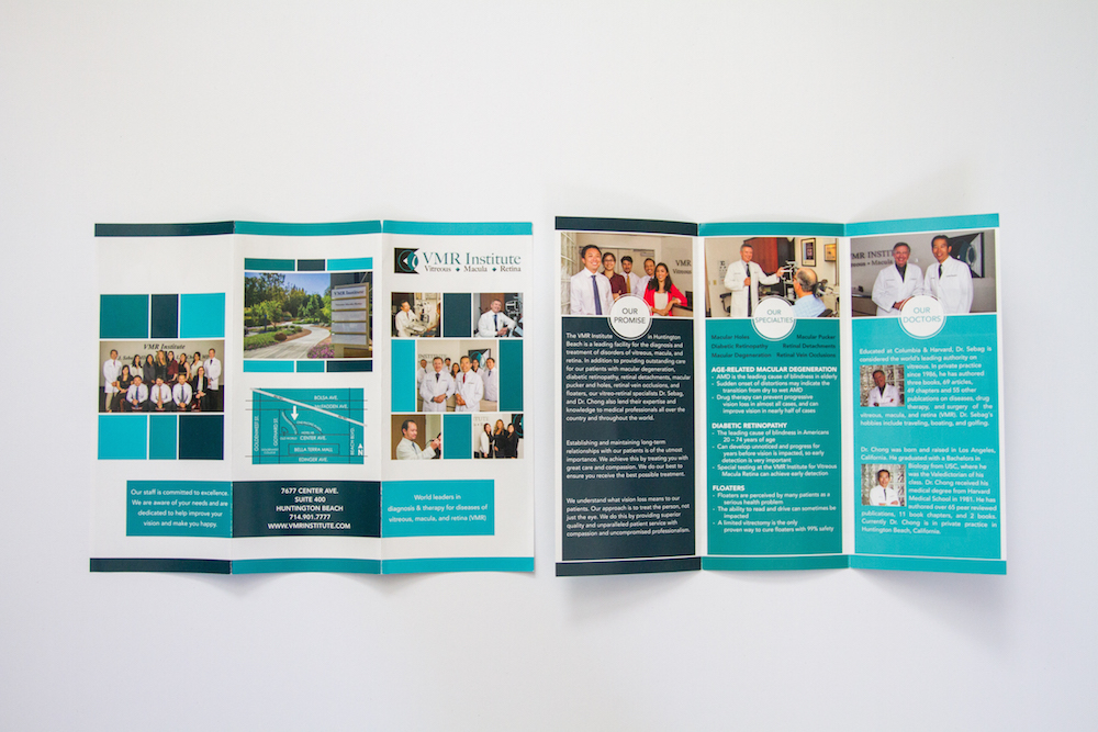 Brochure Design III | Website Design, Orange County, CA