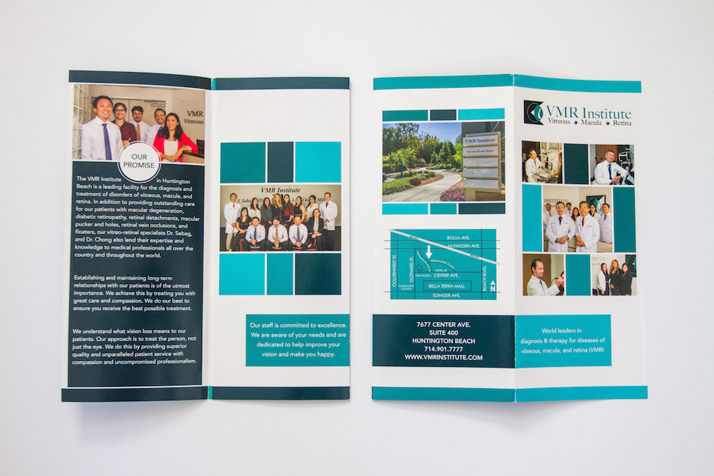 Brochure Design IV | Website Design, Orange County, CA