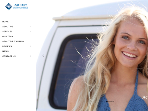 Orthodontics Website Design   Orange County, CA