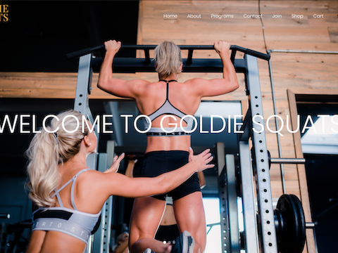 Fitness Website Design in Orange County, CA
